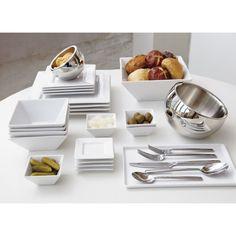 square dinner plates    #LGLimitlessDesign & #Contest