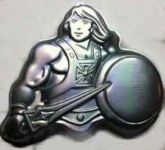 Wilton He-Man Muscle Man ~ Masters of the Universe ~ Warrior Princess ~ Cake Pan (2105-3184, 1983) Retired Collectible -- Read more reviews of the product by visiting the link on the image.