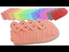 Crochet Flower Motif Booties How to make? Crochet Shoes, Crochet Slippers, Crochet Geek, Free Crochet, Knitted Booties, Knitted Hats, Flower Motif, Crochet Baby Cardigan, Origami Bookmark