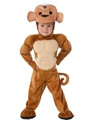 Monkey Toddler and Kids Costume