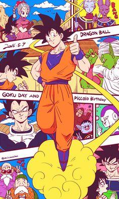 Día de Goku. 9 de Mayo