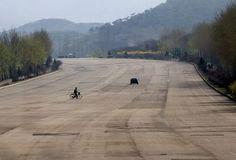 Fotógrafo faz registro das estradas fantasmas da Coreia do Norte