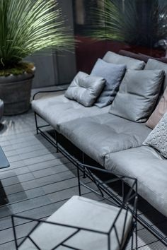 Gepolstertes Gartensofa GIRGENTI | Sofa By BAXTER