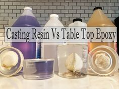 Casting Resin Vs Table Top Epoxy- What's The Difference? – Resin – New Epoxy Resin Table Top, Epoxy Resin Table, Epoxy Resin Art, Diy Epoxy, Diy Resin Art, Diy Resin Crafts, Acrylic Resin, Epoxy Resin Countertop, Diy Countertops