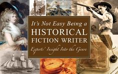 Writing a historical fiction #NaNoWriMo novel? Historical fiction isn't always easy, take a look at these insights into the genre from experts! #writingtips #genre