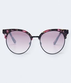 Get the newest styles from Aeropostale. Designer Glasses Frames, Aeropostale, Cat Eye Sunglasses, Lenses, Floral Prints, Beauty, Closet, Women, Style