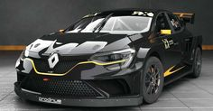 Former World Rally Championship-winning team Prodrive is set to build and develop a brand new Renault Megane RX Supercar for the newly formed GCK team to contest the FIA World Rallycross Championship in Chevy Camaro, Megane Sport, Megane Rs, New Renault, Renault Sport, Supercars, Auto Retro, Renault Megane, Car Tuning