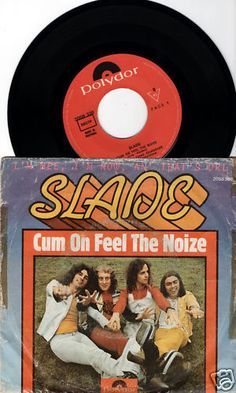 SLADE-Cum-On-Feel-The-Noize-1973-PORTUGAL-RARE-7-45-VINYL-GLAM-2058339-FREE-S-H