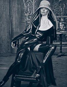 Kate Moss in Atsuko Kudo. Photography: Steven Klein/Art Partner. Via Yahoo.