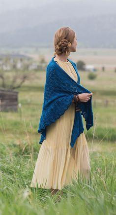 squall line shawl interweave knits fall 2015