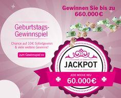 Feiert mit uns 60 Jahre Schwab und habt jede Woche mit unserem #Geburtstags #Gewinnspiel die Chance auf den großen Jackpot