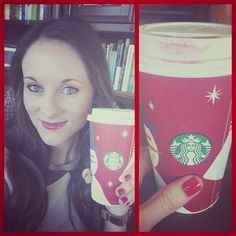 Red lips. Red nails. & Red cups!!!! <3 - Kelsey