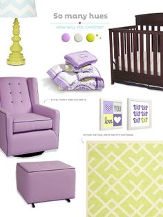 Create the perfect nursery with furniture that mixes function and style.