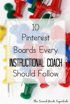Pinterest Boards for Instructional Coaches