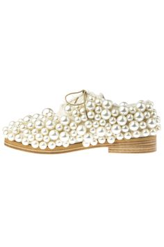 Anouki gorgeous men style inspired pearl shoes.