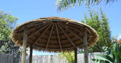 Affordable kitset gazebos and natural thatch solutions available nationwide. We also offer woodfired ovens, bamboo fencing and spa housing.