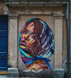 Street Art by Hopare, located in Grenoble, France