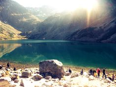Black Lake below Mount Rysy I Passed, Passed Away, Zakopane Poland, See It, River, Mountains, Places, Outdoor, Outdoors