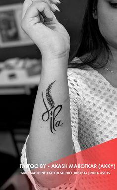 Mom Dad Tattoo Designs, Maa Tattoo Designs, Trishul Tattoo Designs, Finger Tattoo Designs, Forearm Tattoo Design, Heart Tattoo Designs, Tattoo Designs For Women, Finger Tattoos, Simple Tattoos For Women