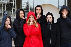 I would seriously do this! Red Coat & the A team from Pretty Little Liars ♥