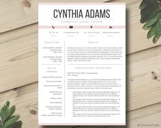 teacher resume template modern and simple resume by successtools - Resume Templates For Educators