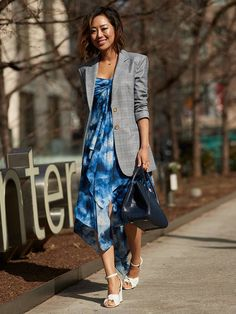 50 Street Style Shots for All the Dress Lovers Out There   Who What Wear UK
