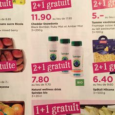 Manor Food - Spiralps 2 + 1 FREE - Today until 20th January 2015 http://www.manor.ch/fr/actions+de+la+semaine/food-aktuelle-angebote-flash.html #Spirulina #Spiruline #Manor