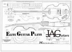 Luthiers Plans To Build This Fender 5 String Jazz Bass by