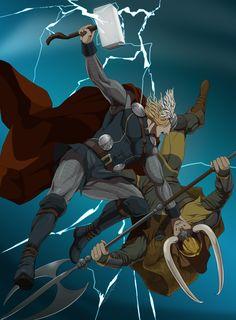 Thor by doubleleaf.deviantart.com