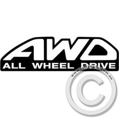 All Wheel Drive #DecalStickers #VinylStickers #BumperStickers #CarStickers #VinylDecalStickers #Stickers #Decals