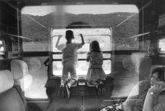 ITALY—Traveling by train, 1991.  © Ferdinando Scianna / Magnum Photos