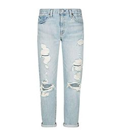 84cb58e343f8e Casual in ripped jeans. French Maria · Jeans For Women