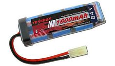 84V NiMH 1600mAh Mini Flat  AIRSOFT BATTERY for M4 S Systems *** Want to know more, click on the image.