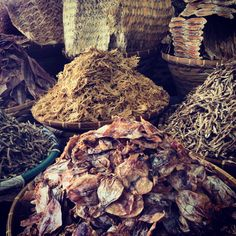 Dried #fish of all shapes and sizes.