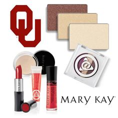 We loved hanging with the Sooners from the University of Oklahoma on the Fall Into Your Beauty College Tour! Which of these cream and crimson Mary Kay® products are your favorites? #MKFallBeauty
