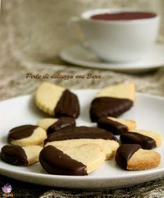 Biscotti con farina di riso e cioccolato