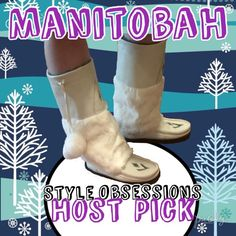 HPManitobah Tall Grain Mukluks in Winter White HP 01/03/16 These gorgeous Manitobah boots are made from grain leather, rabbit fur, and sheepskin shearling. The footbed is sheepskin lined and the sole is a super-durable Vibram sole. These are % authentic. I no longer have the box or certificate as I so wanted to keep these. These are simply too big for me. They are a roomy size 9. They are in perfect condition. No marks, scratches, or wear. I only wore them inside my house one time. Manitobah…