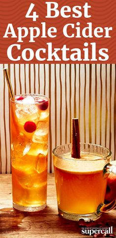 Whether you enjoy it cold or prefer a steaming mugful, cider is a surprisingly versatile base for cocktails—there's more out there than your basic, two-ingredient whiskey-spiked tipple. From a scotch and Campari Highball to a creamy, decadent bourbon hot-tail, usher in your best fall yet with these festive apple cider cocktails.