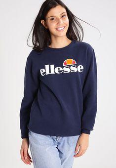 super popular eb35b 25f31 Ellesse AGATA - Sweatshirt - dress blue - ZALANDO.FR Athleisure