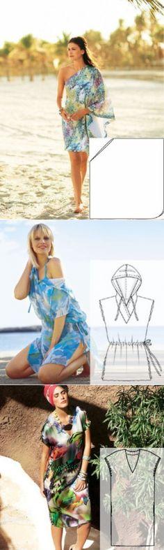 Пляжная одежда — актуально и стильнo (ШИТЬЕ И КРОЙ) — Журнал Вдохновение Рукодельницы