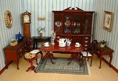 Miniature Doll Houses Furniture Makes My Childhood Special