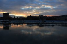 Budapesti naplemente télen
