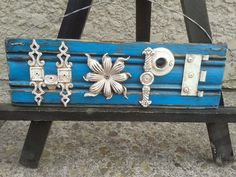 Handmade Metal Salvage & Recycled Wooden HOPE by eclecticcitystore, $65.00
