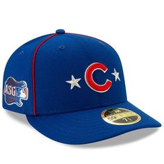 6ef223ba Men's Chicago Cubs New Era Royal 2019 MLB All-Star Game On-Field Low