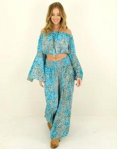 Set natalia Ibiza Fashion, Pants, Dresses, Style, Fashion Styles, Trouser Pants, Vestidos, Swag, Women's Pants