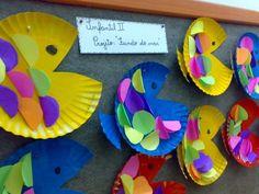 decoração fundo do mar educação infantil - Pesquisa Google
