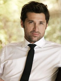Patrick Dempsey; I've never considered myself a real fan of his, but he is just downright smoldering in this picture.