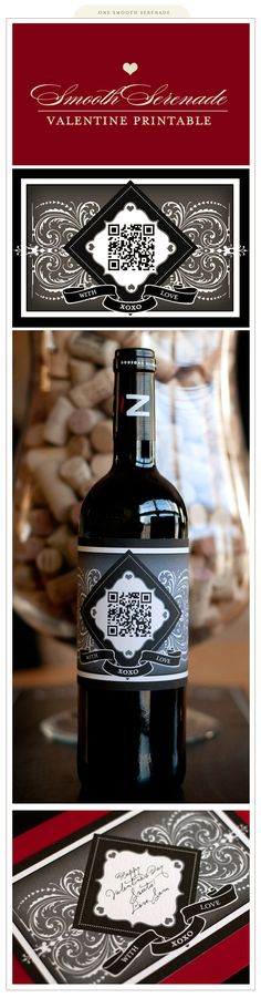 DIY wine bottle labels http://www.squidoo.com/reading-wine-bottle-labels