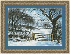 At Winter's Gate - Cross Stitch Pattern  $15