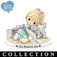 Precious Moments Rescued And Loved Figurine Collection